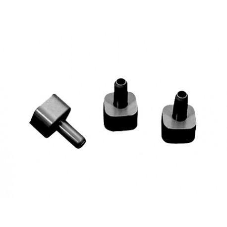 Redukcja rury kwadratowej fi 22 mm na fi 10 mm