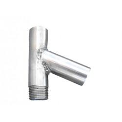 Trójnik do instalacji poidła smoczkowego i miskowego