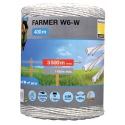 Plecionka FRAMER W6-W 25mm/400m biała