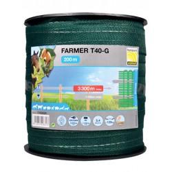 Taśma FARMER T40-GR 40mm/200m zielona
