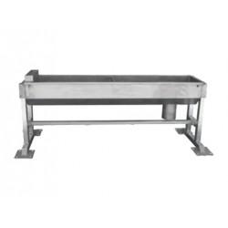 Poidło korytowe automatyczne dla bydła i koni kwasoodporne 1,5m