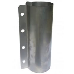 Obejma kwasoodporna na rurę paszową fi 60 mm ze śrubami