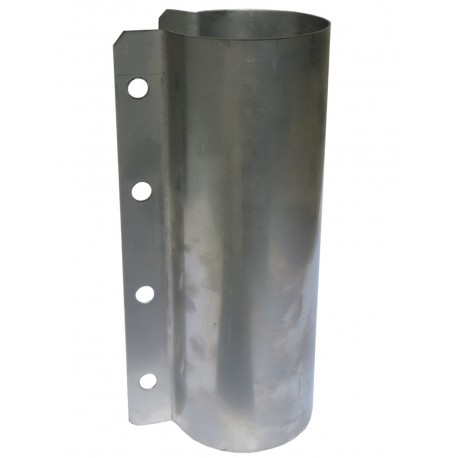 Obejma kwasoodporna na rurę paszową fi 60 mm