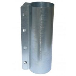 Obejma ocynkowana na rurę paszową fi 60 mm