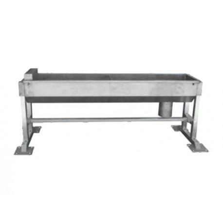 Poidło korytowe automatyczne dla bydła i koni kwasoodporne 2m